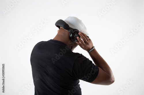 Dj Avec Casque Audio Stock Photo And Royalty Free Images On Fotolia