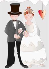 Sposini con cuore