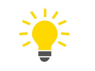 idée - ampoule éclairée