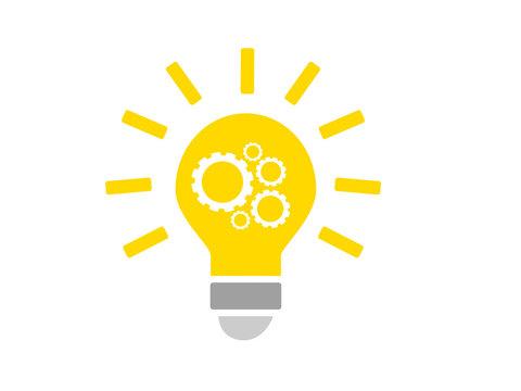 icone créativité - ampoule