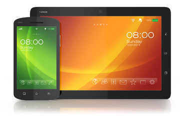 Modern smartphone and tablet PC