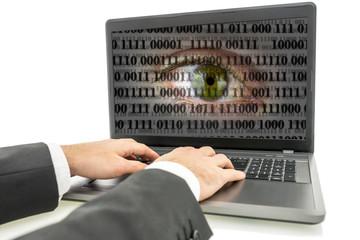 Internet espionage