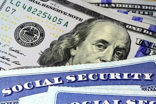 Retirement Concept Social Security Benefits