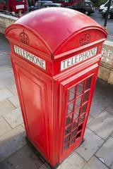 Fototapete - Phone cabine in London