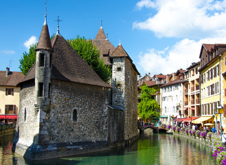 Wall Murals Bridges Annecy
