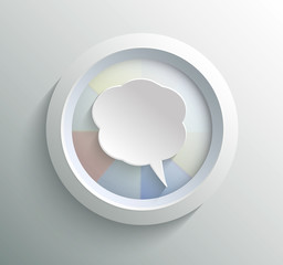 Icon bubble