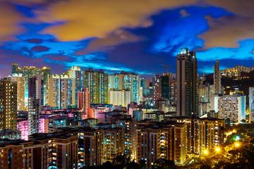 Wall Mural - Cityscape in Hong Kong