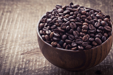 Coffee beans a