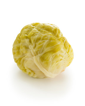 Sour cabbage head