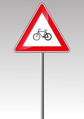 Radverkehr Fahrrad Verkehrsschild Verkehrszeichen