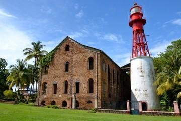 GUYANE : BAGNE DES ILES DU SALUT - HOPITAL
