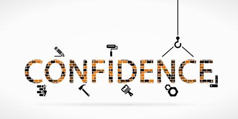 Build confidence construction site