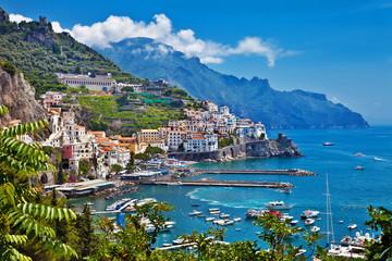 stunning Amalfi coast of Italy