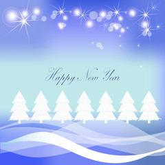 Christmas snow vector background
