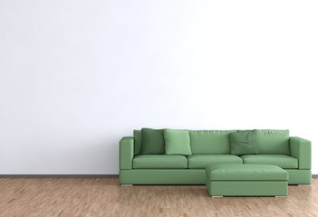 Günes Sofa im Zimmer