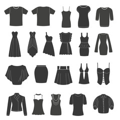 Set of women's & men's clothing.