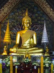 Buddha image in Wat Suan Dok, Chiang Mai