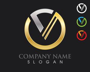 V Logo 6