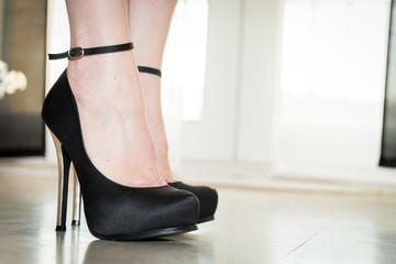 Chaussures à talons noires