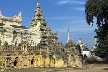 Bagaya Monastery - Innwa (Ava) - Myanmar (Burma)