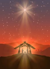 Shining Christmas star