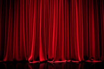 curtain in a theater Fototapete