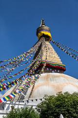 The Buddhist Stupa of Boudha  Kathmandu Nepal
