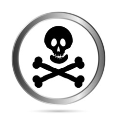 Jolly Roger flag button.