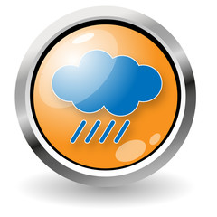 Button cloud and rain