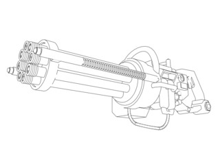 Steampunk Rotation Gun