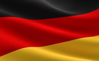 German flag - Deutschland Fahne
