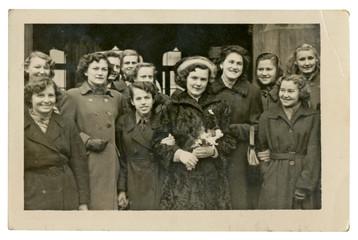 CIRCA 1949 - young women
