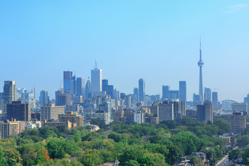 Wall Mural - Toronto city skyline