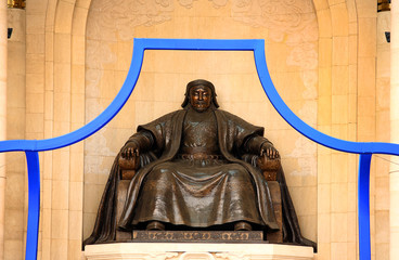 Genghis Khan Statue, Sukhbaatar Square