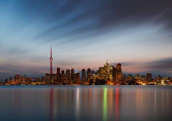 Canvas Print - Toronto skyline, Canada