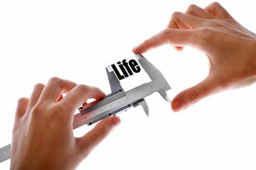 Measuring life