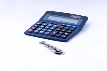 british coins and calculator dof