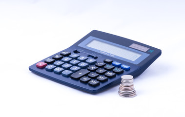british coins and calculator