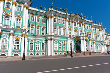 Wall Mural - Hermitage in Saint Petersburg