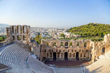 Athens. The Odeon of Herodes Atticus 4