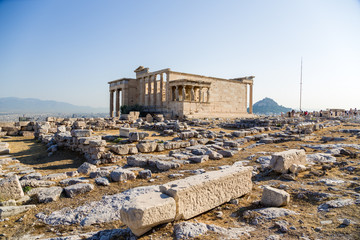 Athens, Acropolis. Erechtheion