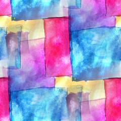 art blue, pink avant-garde hand paint background seamless wallpa