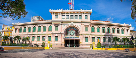 Post Office major tourist attraction in Ho Chi Minh City (Saigon
