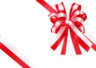 ribbon on a present box