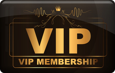 VIP design. Vector illustration.