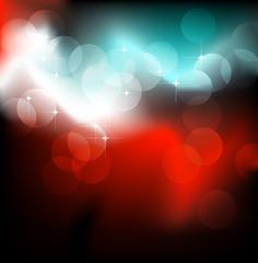 Neon festive glow. Vector illustration.