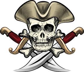 Skull in the hat