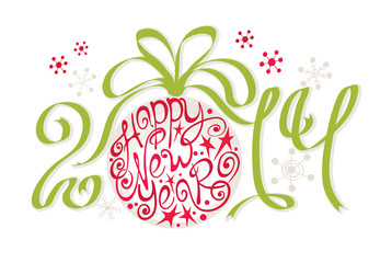 Decoration - Happy New Year 2014
