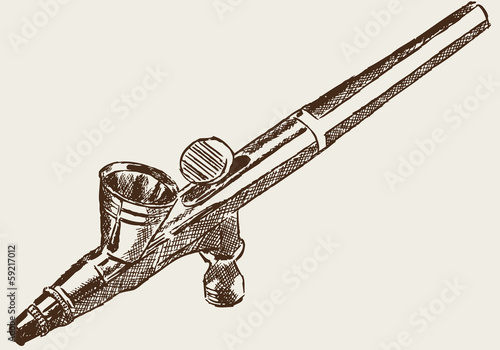 airbrushpistole airbrush pistole stockfotos und. Black Bedroom Furniture Sets. Home Design Ideas