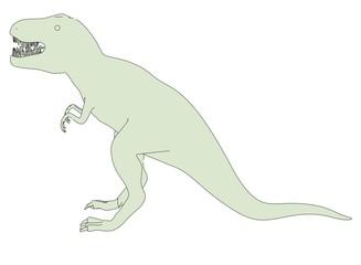 cartoon image of tyrannosaurus rex